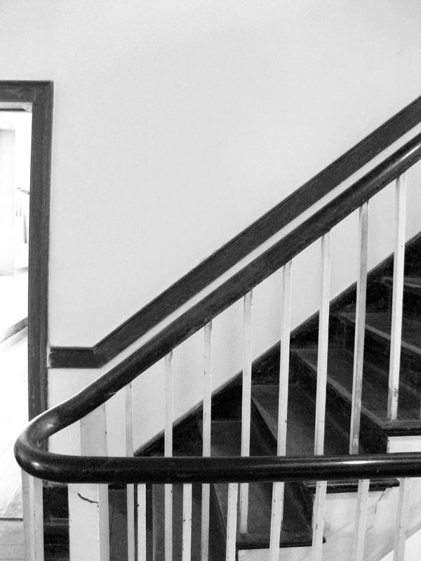 Stairway and Door