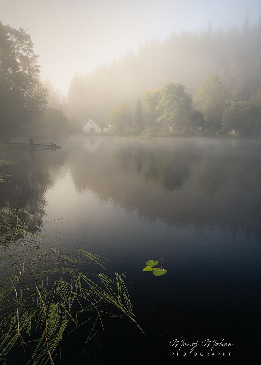 Mist at Loch Ard