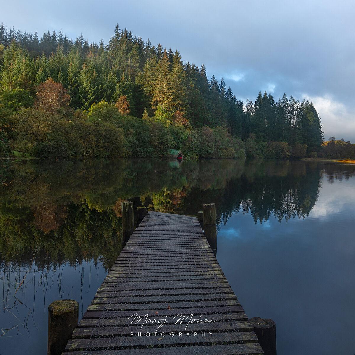 Morning, Milton Pond