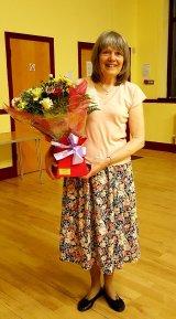 Sue retiring as Treasurer 2018