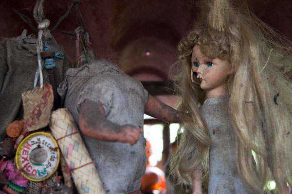 Isle of dolls. Xochimilco (Mexico DF)