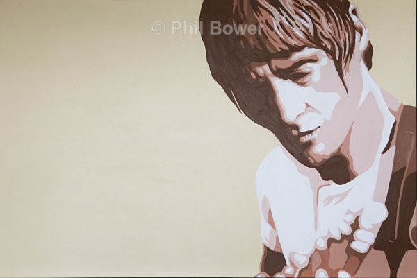 PAUL WELLER.(BROWN)