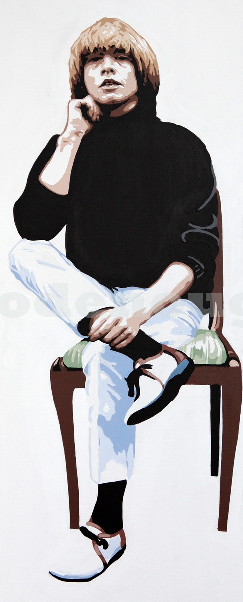 BRIAN JONES - SITTING. 40