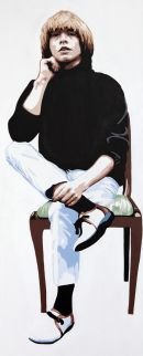 "BRIAN JONES - SITTING. 40""X16"""