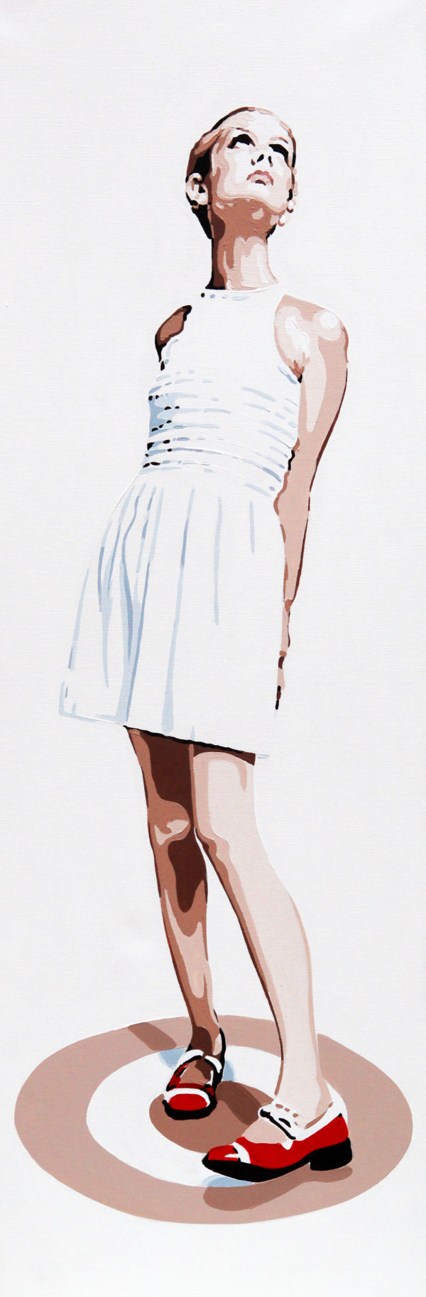 TWIGGY - RED SHOES. 36