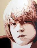 "BRIAN JONES - FROM THE ORIGINAL LINE UP.SIZE: 24"" X 18""."