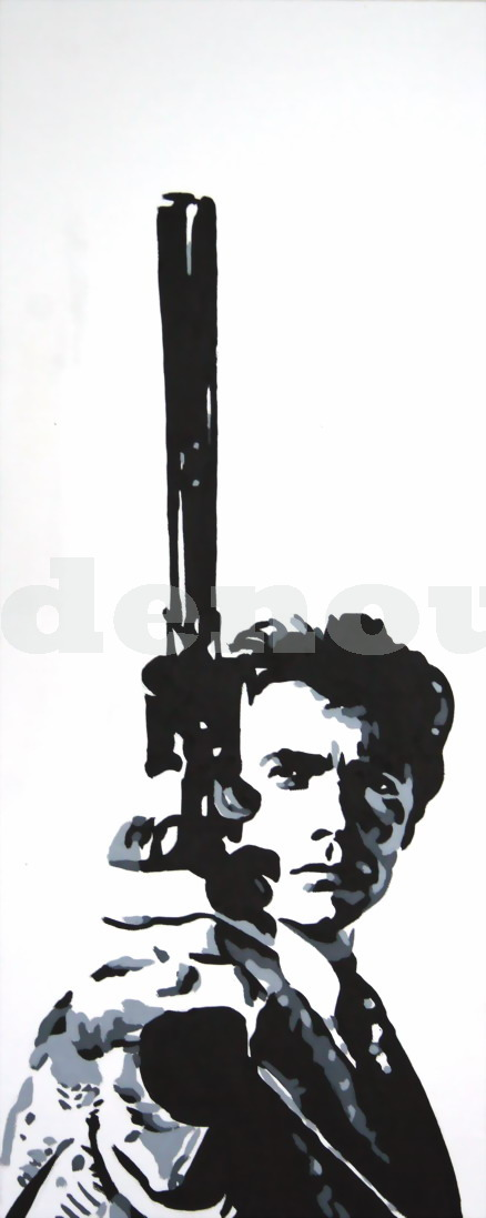 CLINT EASTWOOD - 'DIRTY HARRY'.(2) SIZE: 24