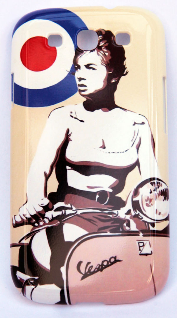 VESPA GIRL PHONE CASE