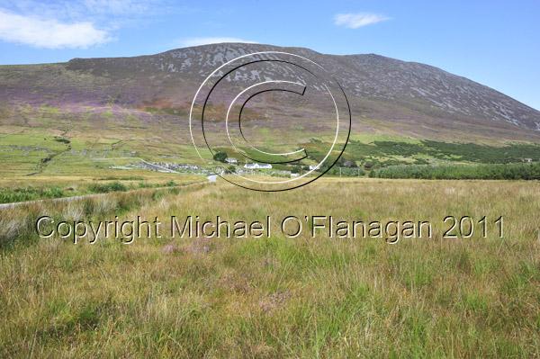 Achill Island, Co. Mayo (Sliabh Mor from Doogort) Ref. # DSC2286