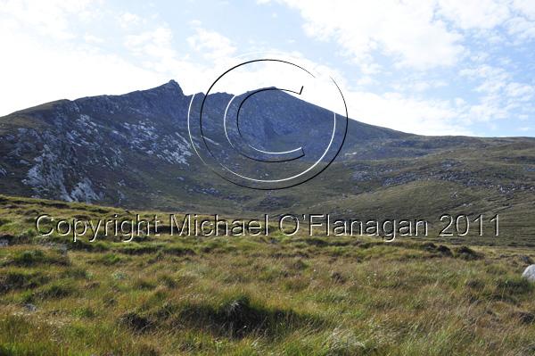 Achill Island, Co. Mayo (Sliabh Mor from Doogort) Ref. # DSC2311