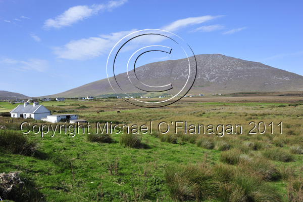 Achill Island, Co. Mayo (Sliabh Mor from Keel) Ref. # DSC2259