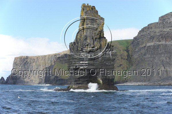 An Branán Mór Sea Stack, Cliffs of Moher, Co. Clare Ref. # DSC7470