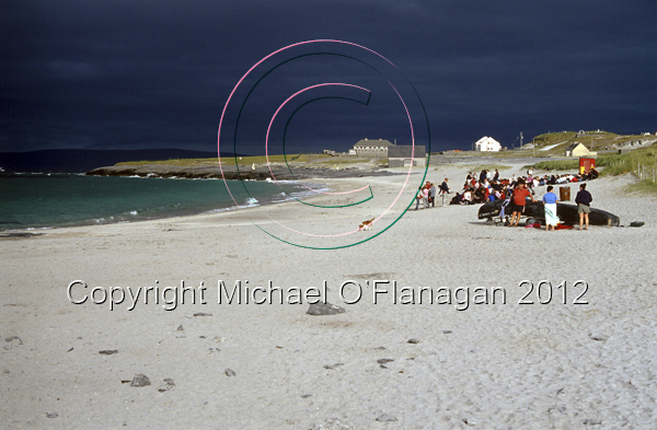 Beach with Stormy Sky, Inis Oirr Ref. # F665.34a