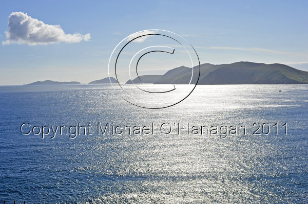 Blasket Islands from Slea Head, Co. Kerry Ref. # DSC0595