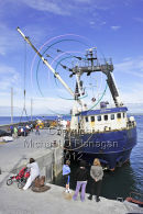 Blath na Mara Cargo Ferry at Pier, Inis Oirr Ref. # DSC6033