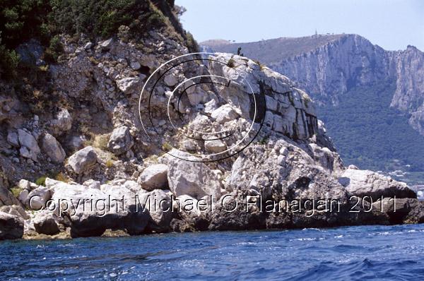 Capri Island, Bay of Naples Ref. # F698.S13.6a