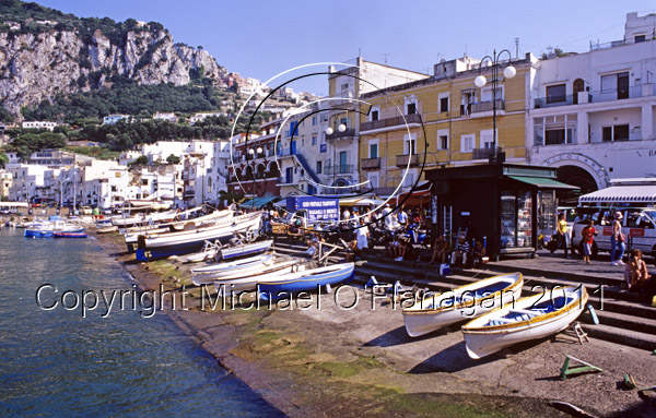 Capri Island, Bay of Naples Ref. # F698.S16.1