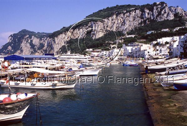 Capri Island, Bay of Naples Ref. # F698.S16.3