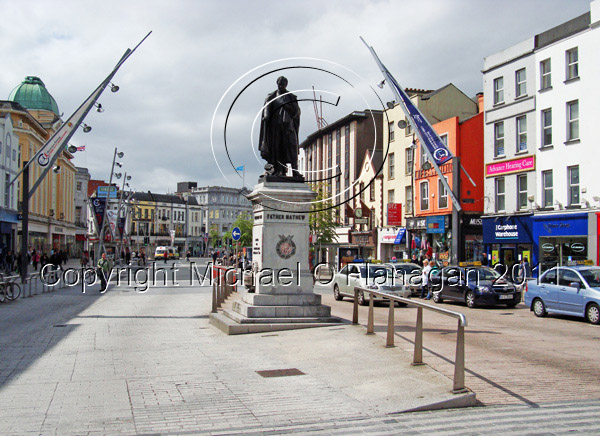 Cork (Father Matthew Monument & Patrick Street) Ref. # DSC02707