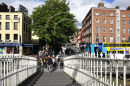 Dublin (Ha'Penny Bridge & Bachelor's Walk) Ref. # DSC4210