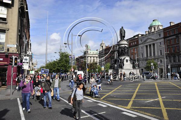 Dublin (O'Connell Street & The Spire) Ref. # DSC4151