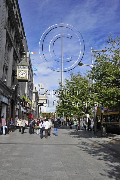 Dublin (O'Connell Street & The Spire) Ref. # DSC4159Adj