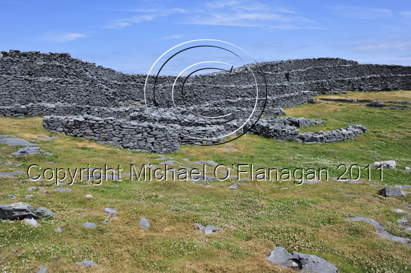 Dun Dubh Cathair, Inis Mor, Aran Islands, Co. Galway Ref. # DSC8968