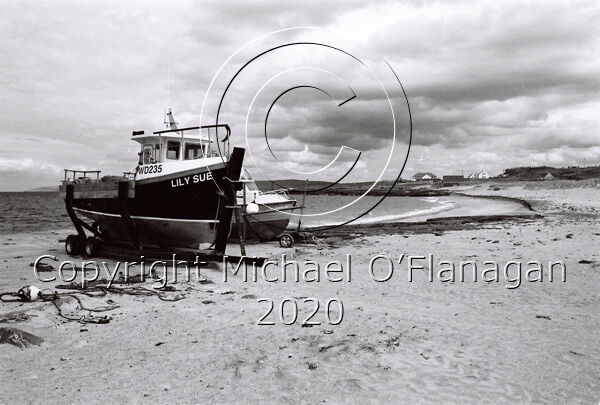 Fishing Boats on Beach, Inis Oirr, Aran Islands Ref. # F934.34
