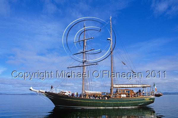 Former Sail Training Ship The Asgard at Cape Clear, Co. Cork Ref. # F246.1