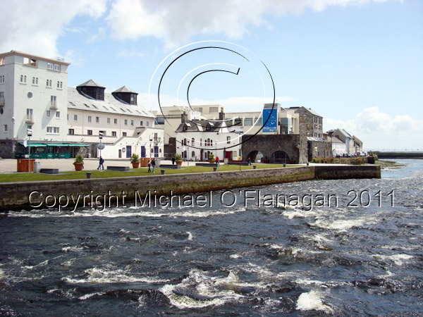 Galway (River Corrib at the Spanish Arch) Ref. # DSC02333