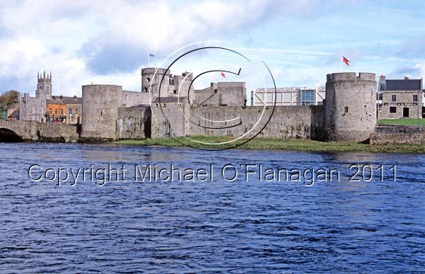 Limerick (King John's Castle & River Shannon) Ref. # FC887.24