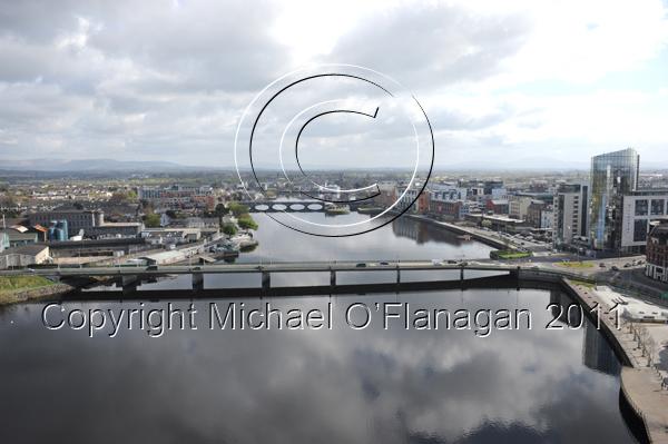 Limerick (River Shannon & Condell Bridge) Ref. # DSC6952