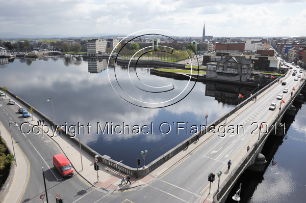 Limerick (River Shannon at Sarsfield Bridge) Ref. # DSC6999