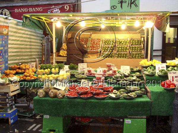 London (Berwick Street Fruit Stall) Ref. # DSC02192