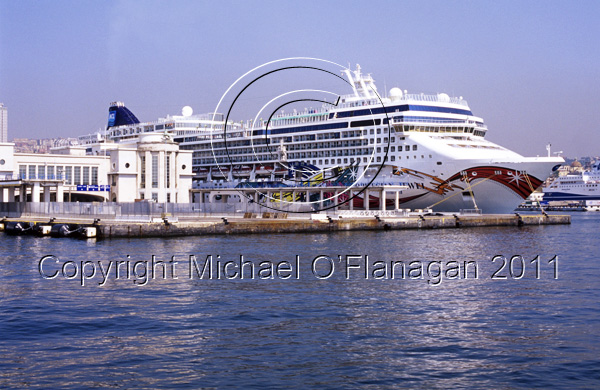 Naples (Norwegian Jewel Cruise Ship) Ref. # F698.S7.26a