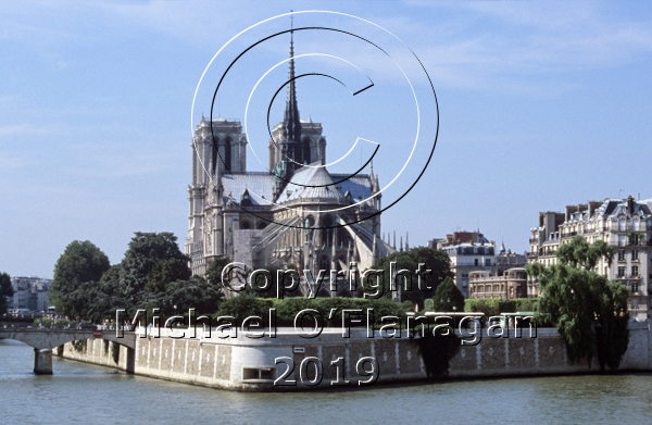 Notre Dame Cathedral, Paris Ref. # F493.7CR.jpg