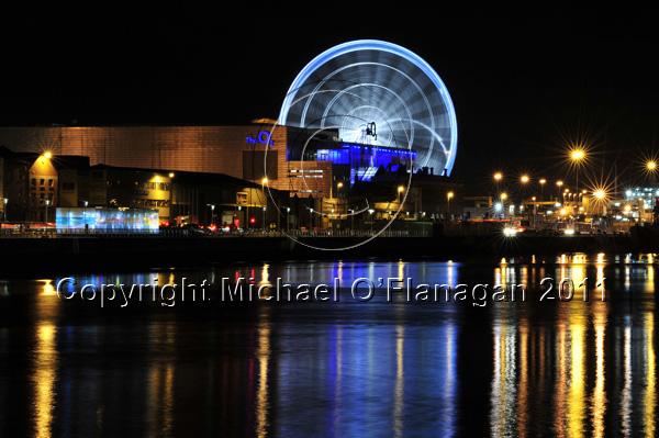 O2 Arena & River Liffey, Dublin Ref. # DSC3952
