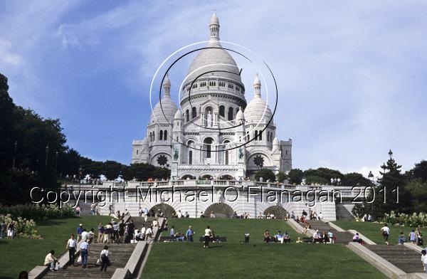 Paris (Basilica of the Sacré Coeur, Montmartre) Ref. # F492.27