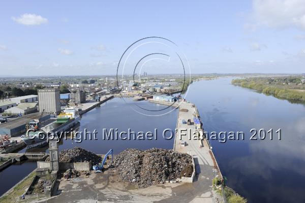 River Shannon at Limerick Docks, Limerick Ref. # DSC6934