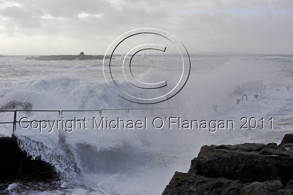 Stormy Day at Doolin Pier, Co. Clare Ref. # DSC7311SHA