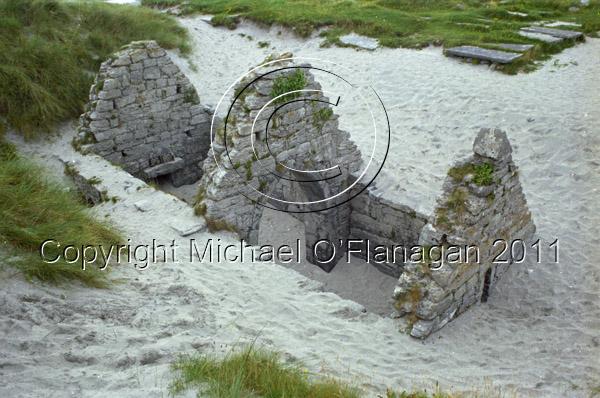 Teampall Chaomhain, Inis Oirr, Aran Islands, Co. Galway Ref. # F39.9