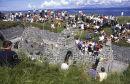 Teampall Chaomhain, Inis Oirr (Dé Bheatha Abhaile August 2000) Ref. # F488.4