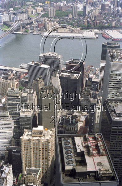 View from former Twin Towers, New York Ref. # F147.11