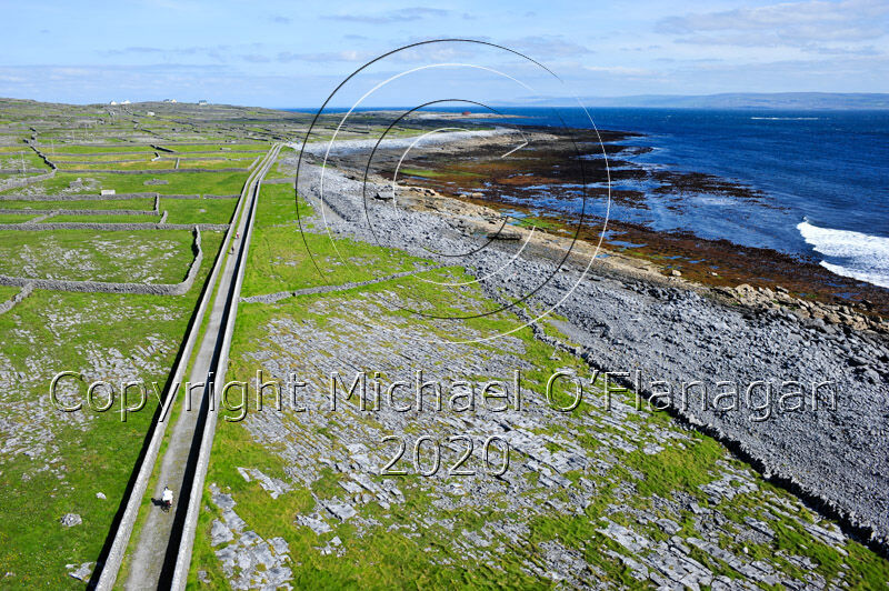 View of Inis Oirr, Aran Islands from top of Lighthouse Ref. # DSC5099.jpg