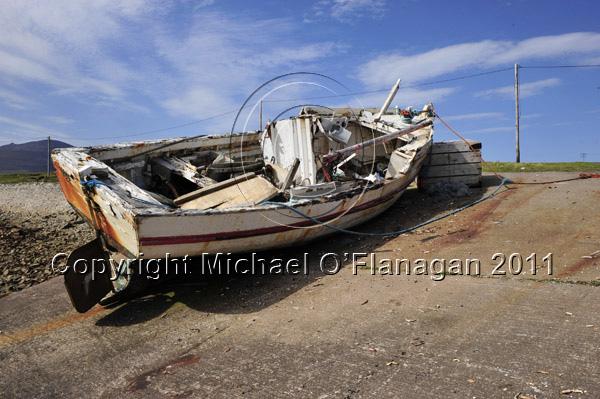 "Achill Island, Co. Mayo (""The Hilda"" at Porteen Pier) Ref. # DSC2277"