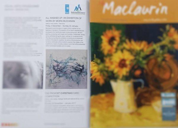Moira Buchanan Fine Art in The Maclaurin Gallery Magazine Autumn 2016