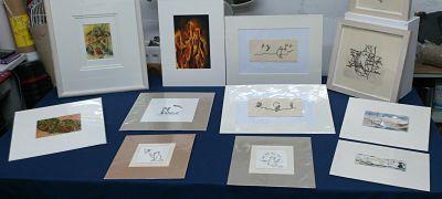 Some illustrations on display