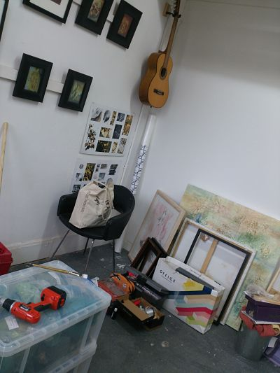 Work space in transition