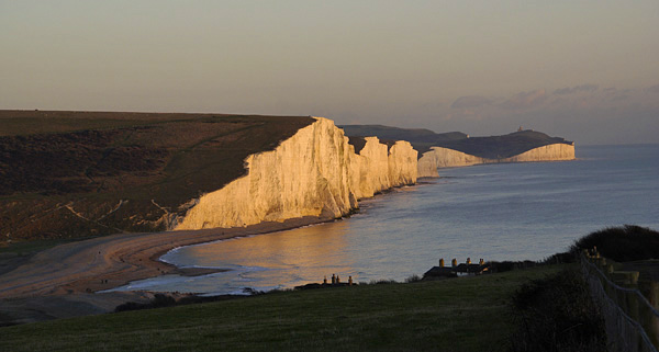 Sunset, Seven Sisters.