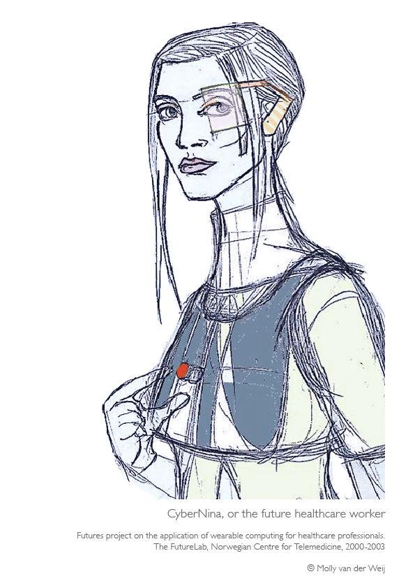 CyberNina, or the future healthcare worker